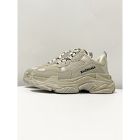 Balenciaga Men's And Women's 2021 NEW ARRIVALS Triple-s Sneakers Shoes