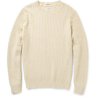 Gant RuggerCable-Knit Sweater MR PORTER