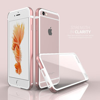 Transparent or Metal Case For Iphone