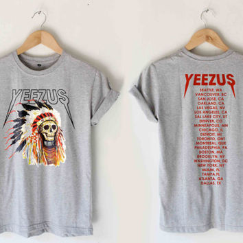 yeezus tour shirt yeezus shirt kanye west by summertoremember
