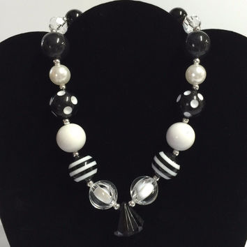 Black Diamond Bubblegum Necklace