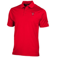 Texas Tech Red Raiders Under Armour Solid Performance Polo – Red