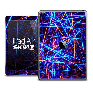 The Neon Strobe Lights Skin for the iPad Air