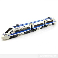 Electric Bullet Train - Lego Compatible Toy