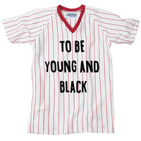 To Be Young & Black Jersey (Red)