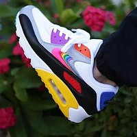 NIKE Air Max 90 New Women Men Air Cushion Running Sport Shoes Sneakers