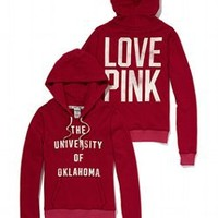 University of Oklahoma Perfect Pullover Hoodie - PINK - Victoria's Secret