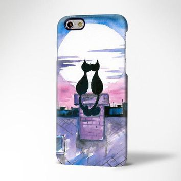 Love Cats iPhone XR Case iPhone XS Max plus Case iPhone 5 Case s7 Galaxy Case 3D 193