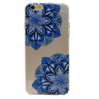 blue lace floral iphone 7 6 6s plus case cover + gift box + elephant ring 39