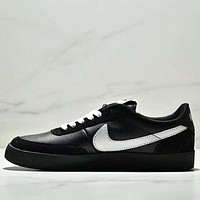 NIKE KILLSHOT 2 LEATHER Fashion New White Hook Leather Women Men Leisure Shoes Black