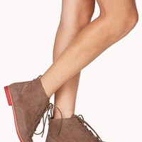 Go-To Oxford Booties