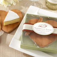 Bamboo Heart Cheese Board
