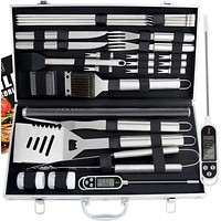 27pc Heavy Duty BBQ Grill Tool Set