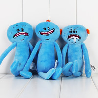 Rick and Morty 3 Mr. Meeseeks Stuffed Plush Toy Dolls