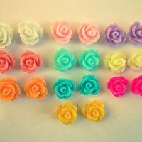 Rose Post Earrings from Love What's Missing