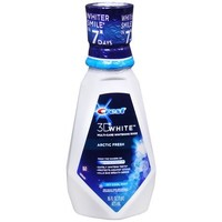 CREST 3D WHITE ARCTIC FRESH MULTI CARE WHITENING RINSE ICY COOL MINT 16 OZ