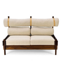 "Two-seater ""Tonico"" Sofa by Sergio Rodrigues"