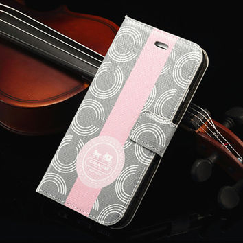 "Luxury PU Leather Case for iPhone 7 6 6S 4.7"" Plus 5.5"" Wallet Flip Magnetic Cover Stand Mobile Phone Bag Case for iPhone 7 Plus"