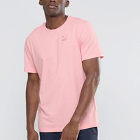 Pink   Puma Oversized T-Shirt In Pink Exclusive To ASOS at ASOS