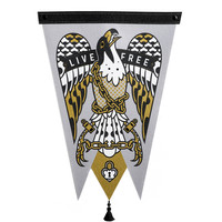 Live Free Pennant