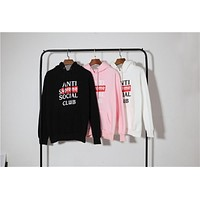 ASSC x Supreme Letter Printing Hoodie Sweater M--XXL