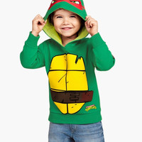 Teenage Mutant Ninja Turtles winter clothing Children's Hoodies Sweatshirts sets cartoon hip hop costume kids child Christmas gifts