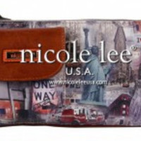 Nicole Lee New York Print Fanny Pack Bag (Made in USA)