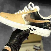 NIKE AIR FORCE 1 Low-top sports shoes