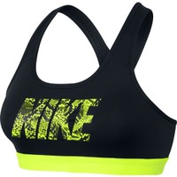 Nike Women's Pro Classic Logo Printed Sports Bra | DICK'S Sporting Goods