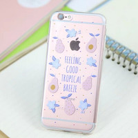 Cute Pear Cover Case for iPhone 5s 5se 6 6s Plus Gift 318