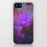 North America Nebula: Stars in the space. iPhone Case by Guido Montañés | Society6