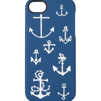 J.Crew Anchors Aweigh Printed Rubber iPhone 5 Case | MR PORTER