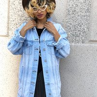 LONG LINES DENIM JACKET