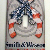 Light Switch Cover - Light Switch Plate Smith & Wesson