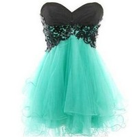 PrettyDresses Women's Short Lace Cocktail Formal Prom Party Dresses US 2