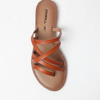 O'Neill Legend Faux Leather Strappy Sandals at PacSun.com