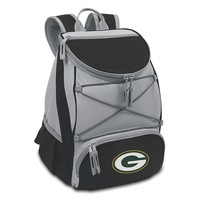 Picnic Time Green Bay Packers PTX Backpack Cooler (Black)