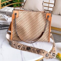 DIOR Popular Women Shopping Bag Leather Canvas Handbag Satchel Crossbody Shoulder Bag