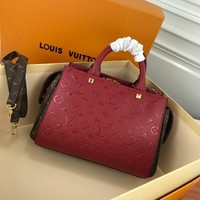 LV Louis Vuitton MONOGRAM LEATHER HANDBAG SHOULDER BAG-KUYOU