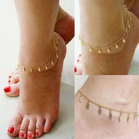 Women's Anklets Gold Plated For Ankle