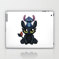 Can I Sit Here Laptop & iPad Skin by Katie Simpson