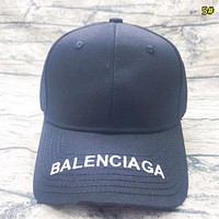 Balenciaga Fashion New Multicolor Embroidery Letter Women Men Cap Hat 5#