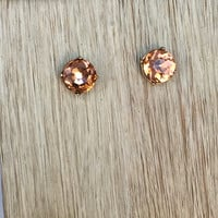 Crystal Love Earrings – AMBER
