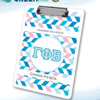 Gamma Phi Beta 2-sided Clipboard