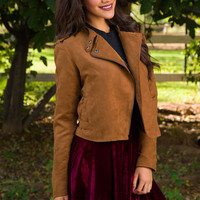 Anything Can Happen Suede Jacket