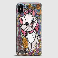 Marie Cat DisneyS The Aristocats Stained Glass iPhone X Case | casescraft