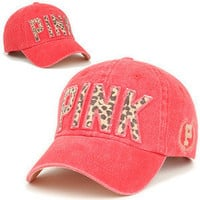 Ball Cap PIJ RED Baseball PINK Fashion Hat Casual Jean Trucker Fashion Unisex