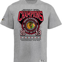 Rinkside Chicago Blackhawks 2013 Stanley Cup Champions Circle T-shirt - Shop.NHL.com Exclusive!
