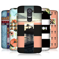HEAD CASE CROSS COLLECTION PROTECTIVE SNAP-ON BACK CASE COVER FOR LG G2 D802