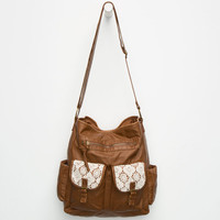 T-Shirt & Jeans Molly Crochet Tote Brown One Size For Women 25988640001